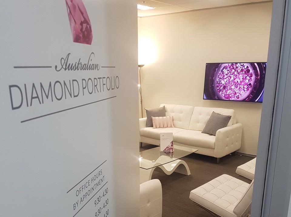 Australian Diamond Portfolio office.