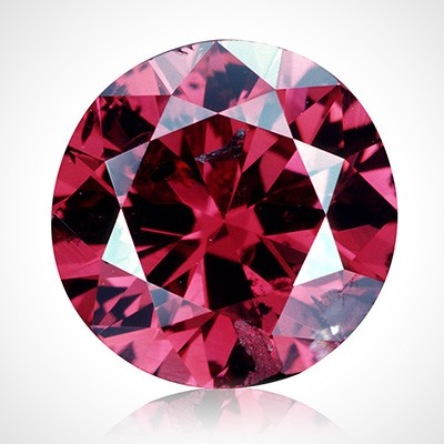 A fancy colour diamond sphere.