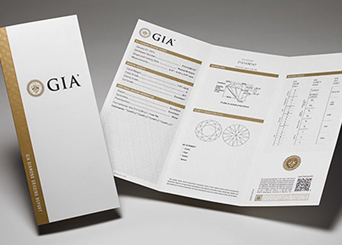 GIA certification.