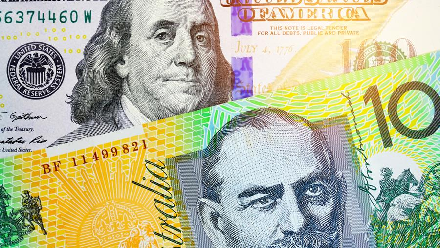 AUD and USD